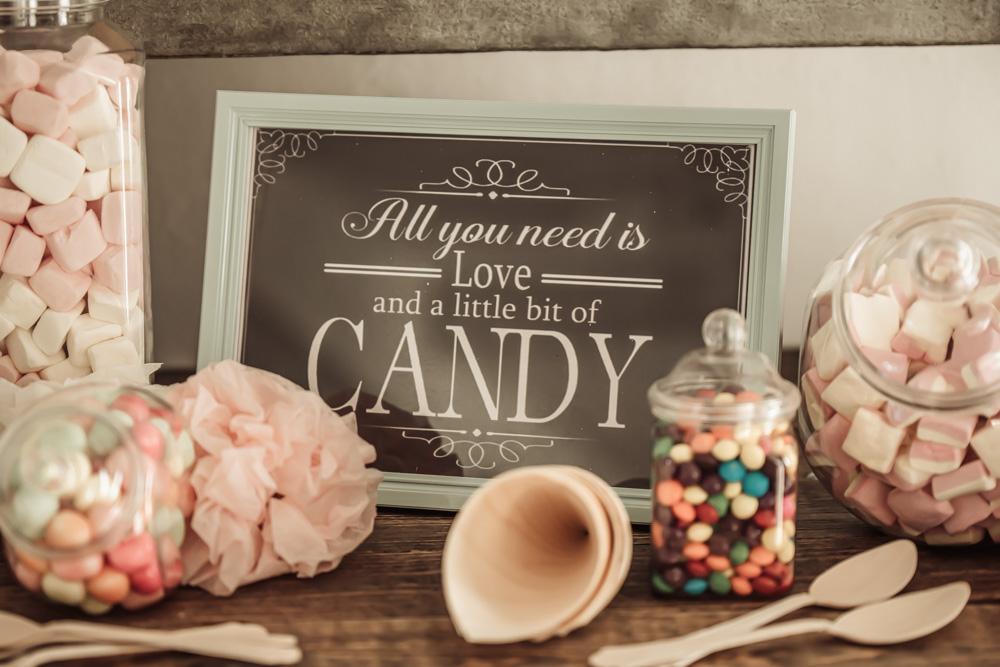 Slikbar til bryllup med sødt og kærligt citat, inspiration til bryllup