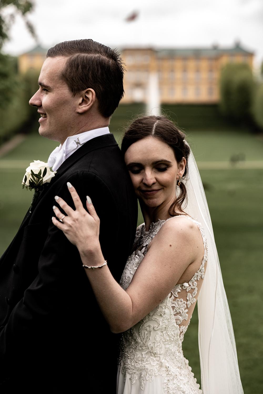 Bryllupsbilleder i Frederiksberg Have i København
