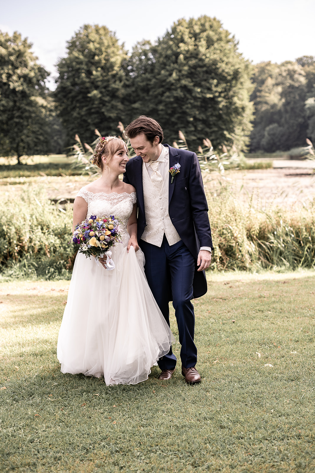 Bryllupsbilleder i Hørsholm